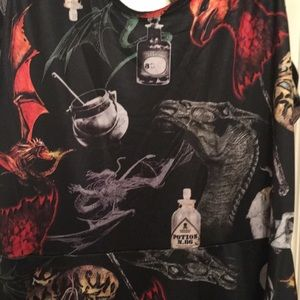 Hot Topic Dresses - NWT Harry Potter Magical Creatures Slater Dress